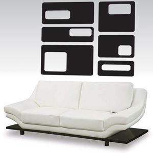 A1002 Rectangle Stickers