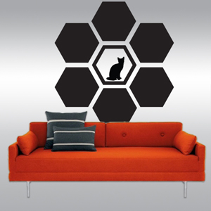 A1006 Miel LozangeWall Decals Stickers