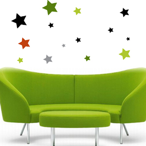 A1007 Wall Stars Stickers Decals