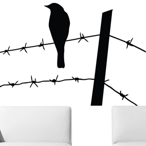 B2503-Decor-animal-bird-sticker-wall