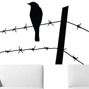 B2503-Decor-animal-bird-sticker-wall