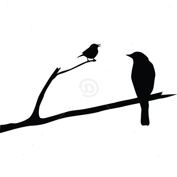 B2504-Decor-animal-bird-sticker-wall