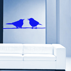 B2507-Decor-animal-bird-sticker-wall