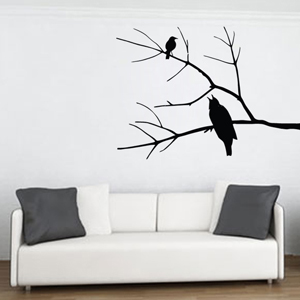 B2508-Decor-animal-bird-sticker-wall