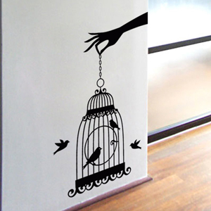 B2510-Decor-animal-bird-sticker-wall