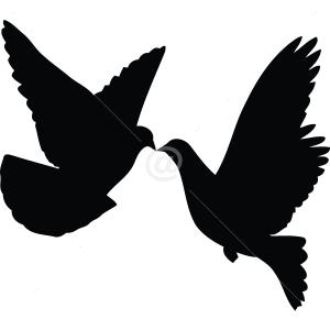 B2513-Decor-animal-bird-sticker-wall