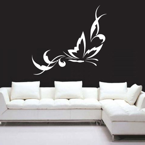 B2517-Decor-animal-butterfly-sticker-wall