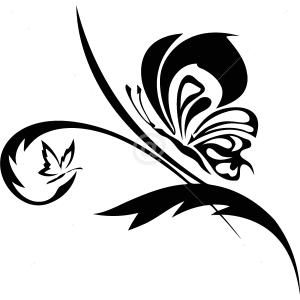 B2518-Decor-animal-butterfly-sticker-wall