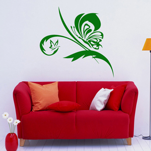 B2518-Decor-animal-butterfly-sticker-wall