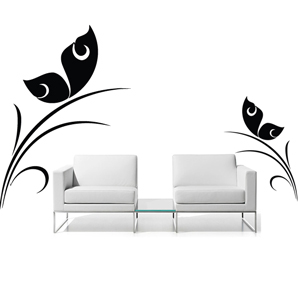 B2520-Decor-animal-butterfly-sticker-wall