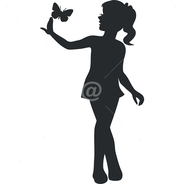 B2521-Decor-animal-butterfly-sticker-wall-girl-Kids