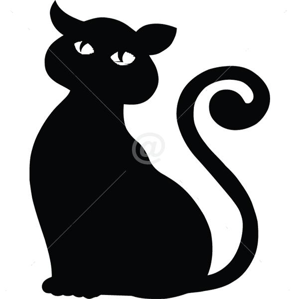 B3010-Decor-animal-butterfly-sticker-wall-cat