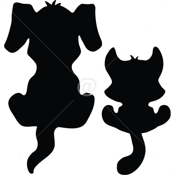 B3017-Decor-animal-butterfly-sticker-wall-cat