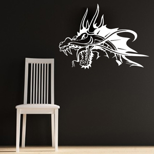 B3030-Decor-animal-dragon-sticker-wall-cat