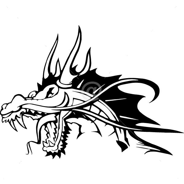 B3030-Decor-animal-dragon-sticker-wall-cat