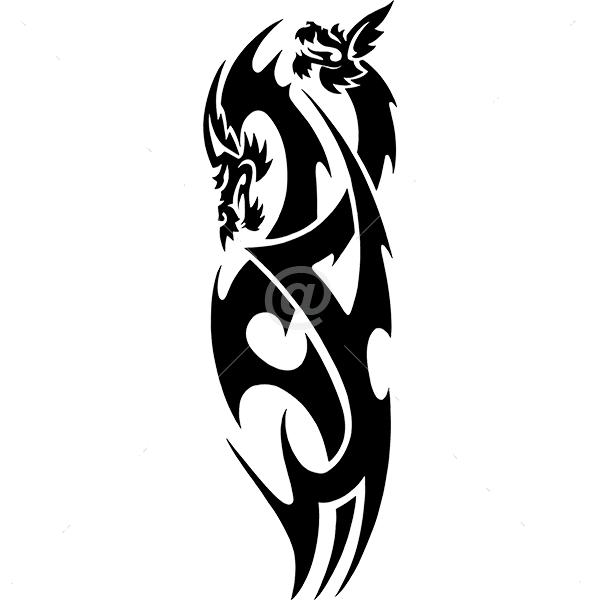 B3031-Decor-animal-dragon-sticker-wall-cat