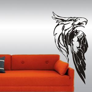B3035-Etoile-sport-sticker-Noel-Arbre-Lune-Cuisine-stickers-lavage-Magasinage-design-decoration-Aigle
