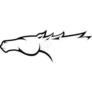 B3038-Decor-animal-Horse-sticker-wall-free