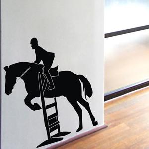 B3041-Decor-animal-Horse-sticker-wall-free