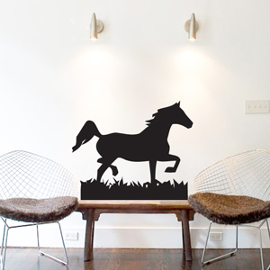 B3047-Decor-animal-Horse-sticker-wall-free