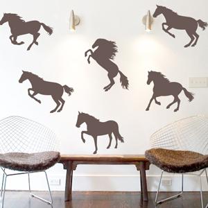 B3050-Decor-animal-Horse-sticker-wall-free