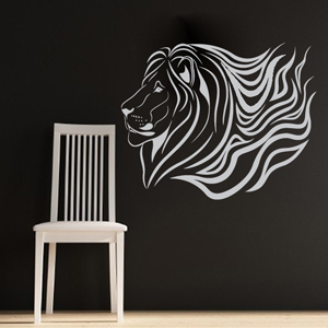 B3052-Decor-animal-lion-sticker-wall-free