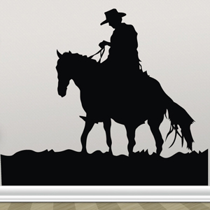 B3058-Decor-animal-Horse-sticker-wall-free