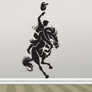B3060-Decor-animal-Horse-sticker-wall-free-Western