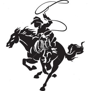 B3061-Decor-Western-Horse-sticker-wall-free