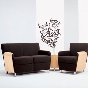 N2406-Decor-flower-sticker-wall