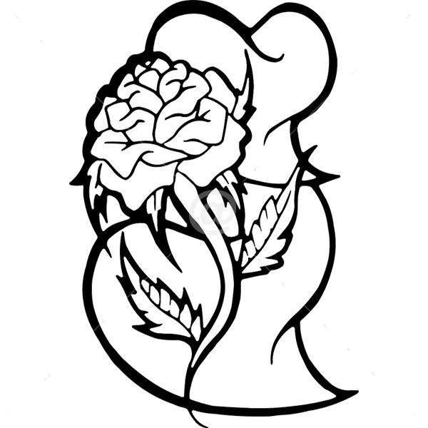 N2408-Decor-flower-sticker-wall