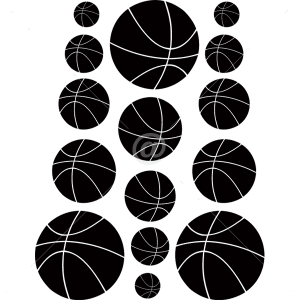 S2002-Basketball-sport-sticker-wall