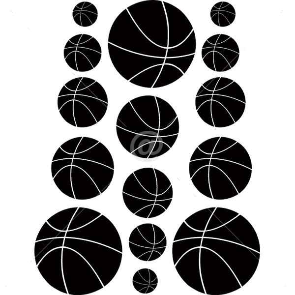 S2002-Basketball-sport-sticker-wall