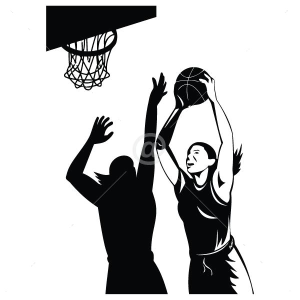 S2004-Basketball-sport-sticker-wall