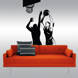 S2004-Basketball-sport-sticker-wall