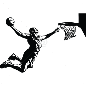S2006-Basketball-sport-sticker-wall