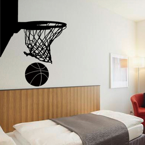 S2008-Basketball-Hockey-sport-sticker-Noel-Arbre-Chef-Cuisine-stickers-lavage-Magasinage-design-decoration