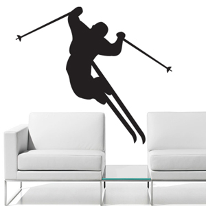 S2150-ski-sport-sticker-wall