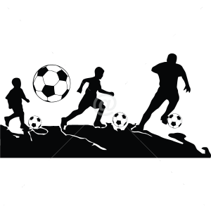 S2250-Soccer-sport-sticker-wall