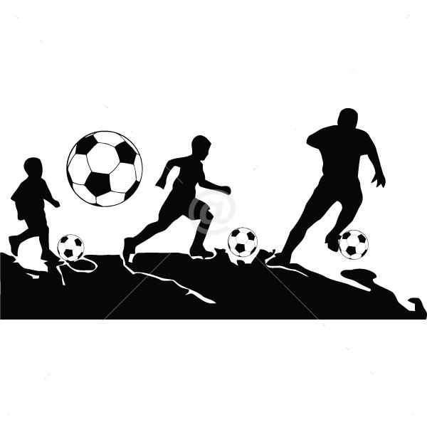 S2250-Soccer-sport-sticker-wall