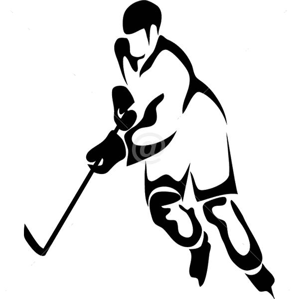 S2300-Hockey-sport-sticker-wall