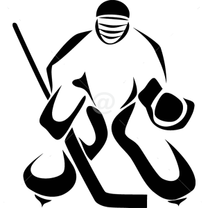 S2302-Hockey-sport-sticker-wall