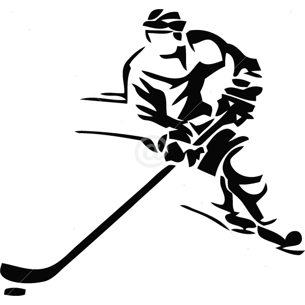 S2303-Hockey-sport-sticker-wall