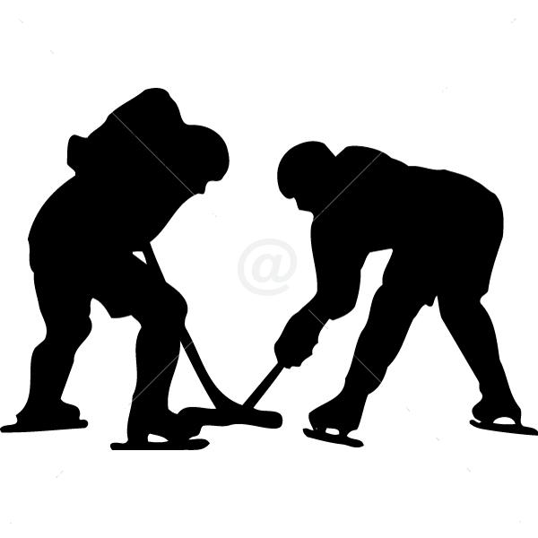 S2304-Hockey-sport-sticker-wall
