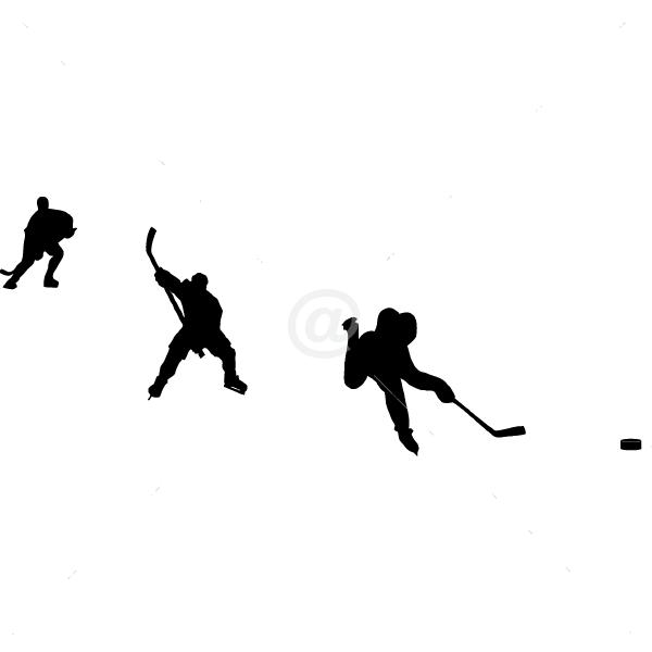 S2305-Hockey-sport-sticker-wall