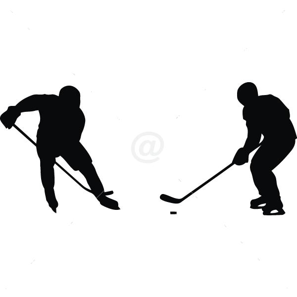 S2306-Hockey-sport-sticker-wall
