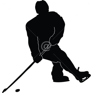S2309-Hockey-sport-sticker-wall