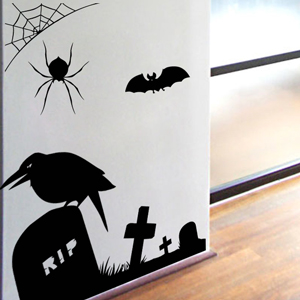V4010-Halloween-sport-sticker-wall-halloween