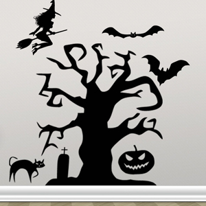V4011-Hockey-sport-sticker-wall-halloween