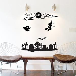 V4013-Hockey-sport-sticker-wall-halloween-Design-Decoration-Vinyle
